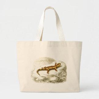 Orbigny - Spotted Salamander - Salamandra maculosa Tote Bag