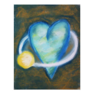 Orbit around Your Heart print Art Photo