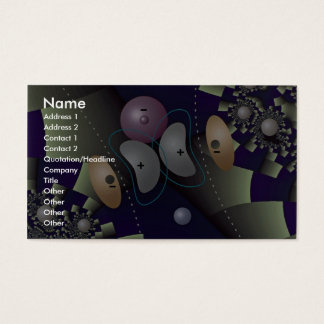 Orbital overlap in H atom Orbit Business Card