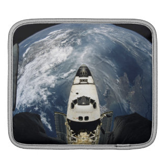 Orbiting Spacecraft iPad Sleeve