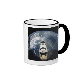 Orbiting Spacecraft Coffee Mugs