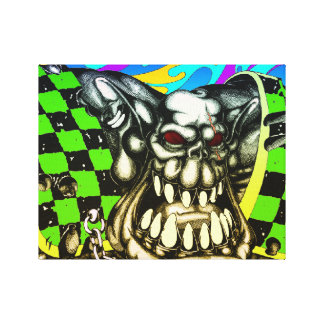 """Orc 14"""" x 11"""" Stretched Canvas Gallery Wrap Canvas"""