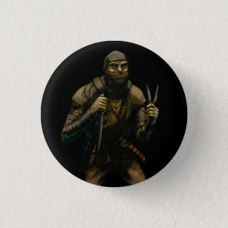 Orc Assassin 3 Cm Round Badge