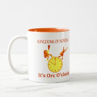 Orc O'Clock coffee mug