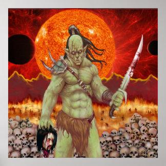 Orc of Destruction poster