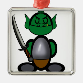 Orc (plain) christmas ornament