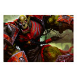 Orc Warrior Poster