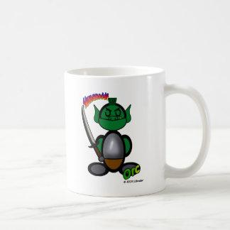 Orc (with logos) basic white mug