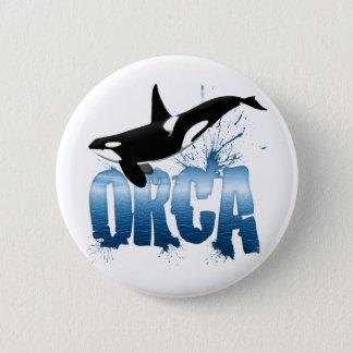 ORCA 6 CM ROUND BADGE