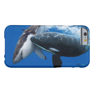 Orca attacks white shark barely there iPhone 6 case