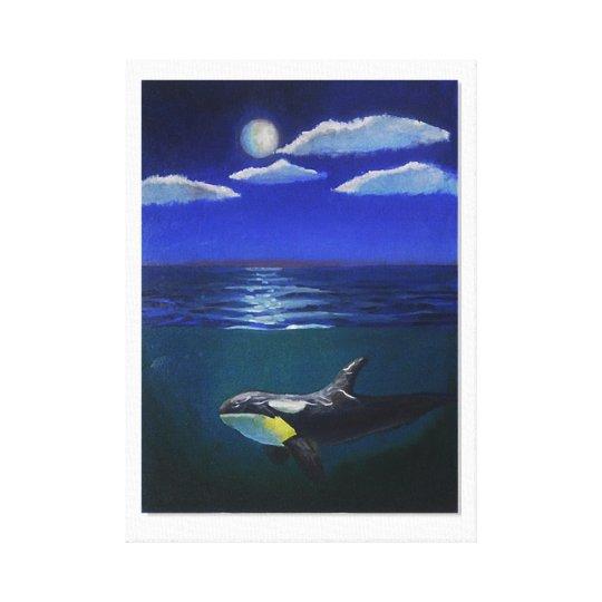 orca by Eli Canvas Print