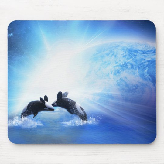 Orca Dance Mousepad