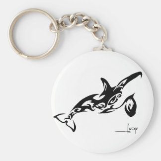 Orca Keyring Basic Round Button Key Ring