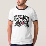 Orca Killer Whale Hunting - Haida-style Graphic Shirt
