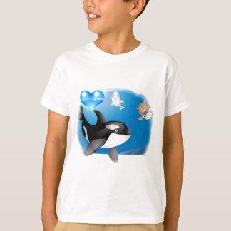Orca (Killer Whale) I heart designs T-Shirt