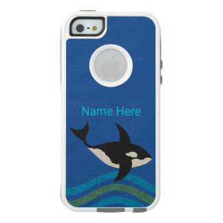 Orca Leather Look iphoneSE Preppy Style Aquatic OtterBox iPhone 5/5s/SE Case