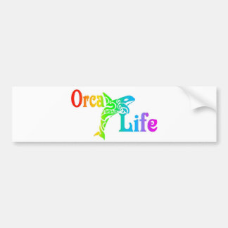 Orca Life Bumper Sticker
