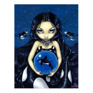 """""""Orca Magic"""" Postcard"""