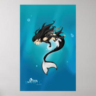 Orca Magic Poster