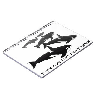 Orca Notebook Personalized Killer Whale Journal