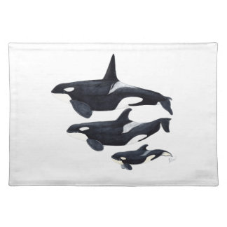 Orca Placemat
