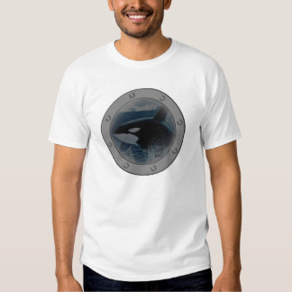 Orca Porthole. T Shirt