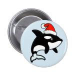 Orca Santa Button