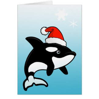 Orca Santa Card