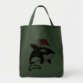 Orca Santa Grocery Tote Bag