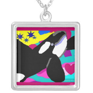 Orca Star of the Sea Silver Plated Necklace