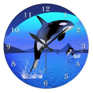 Orca Wall Clock