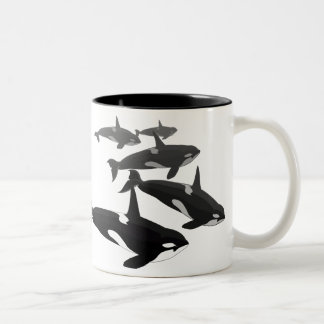 Orca Whale Mugs & Cups Killer Whale Coffee Cups
