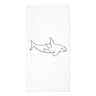 Orca Whale Photo Card