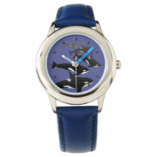 Orca Whale Watch Killer Whale Art Wrist Watch