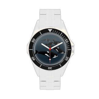 Orca Whale Watch Killer Whale Art Wrist Watch