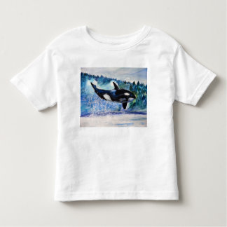 Orca Whale watercolor T-Shirt