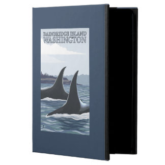Orca Whales #1 - Bainbridge Island, Washington iPad Air Cases