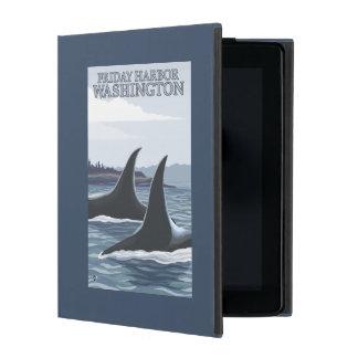 Orca Whales #1 - Friday Harbor, Washington iPad Cover