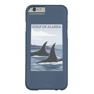 Orca Whales #1 - Gulf of Alaska Barely There iPhone 6 Case