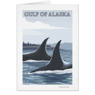 Orca Whales #1 - Gulf of Alaska Cards