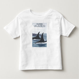 Orca Whales #1 - Haines, Alaska Toddler T-Shirt
