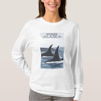 Orca Whales #1 - Homer, Alaska T-Shirt