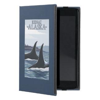 Orca Whales #1 - Kenai, Alaska Cover For iPad Mini