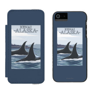 Orca Whales #1 - Kenai, Alaska Incipio Watson™ iPhone 5 Wallet Case