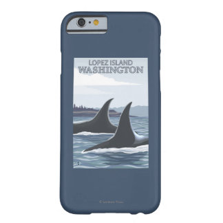 Orca Whales #1 - Lopez, Washington Barely There iPhone 6 Case