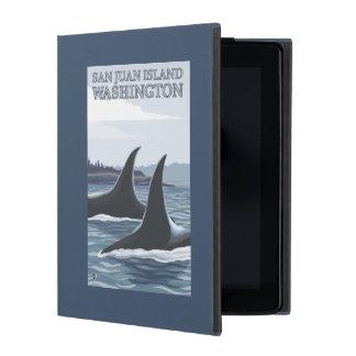 Orca Whales #1 - San Juan Island, Washington Cases For iPad