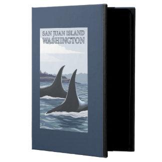 Orca Whales #1 - San Juan Island, Washington Cover For iPad Air
