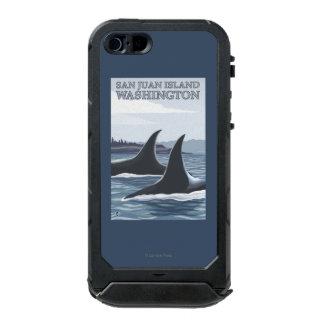 Orca Whales #1 - San Juan Island, Washington Incipio ATLAS ID™ iPhone 5 Case