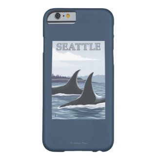 Orca Whales #1 - Seattle, Washington Barely There iPhone 6 Case