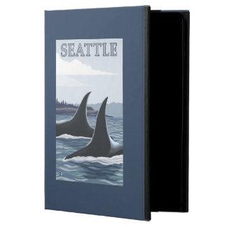 Orca Whales #1 - Seattle, Washington Cover For iPad Air